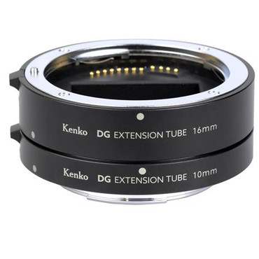 Kenko AF Extension Tube Set for Canon RF Mounts, Includes 10mm and 16mm Tubes