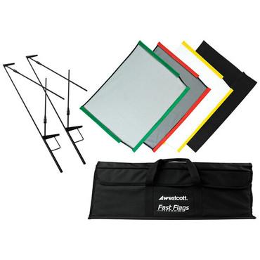 """Westcott Fast Flags Scrim Kit - 18x24"""""""