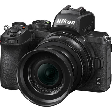 Nikon Z - Z50 Mirrorless Digital Camera with 16-50mm and 50-250mm Lenses