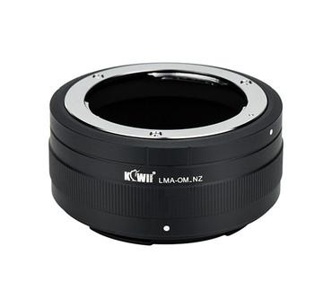 Kiwifotos Olympus OM Lens - Nikon Z Camera - Mount Adapter