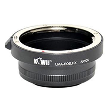 Kiwifotos Canon EF Lens - Fuji X-Pro1 Mount Adapter