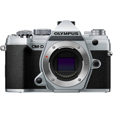 Olympus OM-D E-M5 Mark III Mirrorless Digital Camera (Body Only, Silver) (ACE61215)