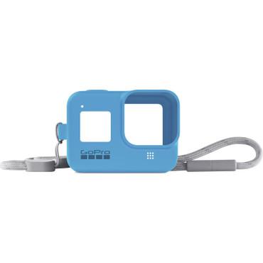 GoPro Silicone Sleeve and Adjustable Lanyard Kit for GoPro HERO8 (Bluebird)