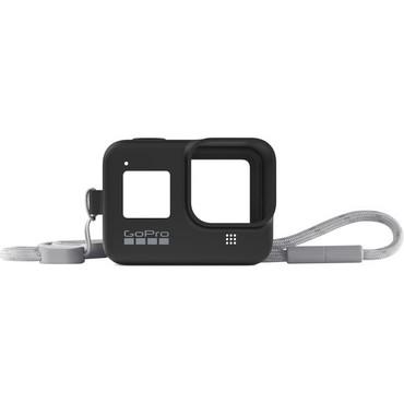 GoPro Silicone Sleeve and Adjustable Lanyard Kit for GoPro HERO8 (Blackout)
