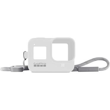GoPro Silicone Sleeve and Adjustable Lanyard Kit for GoPro HERO8 (White Hot)