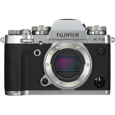 Fujifilm X-T3 with XF16-80mm F/4 R OIS WR Lens Kit- Silver