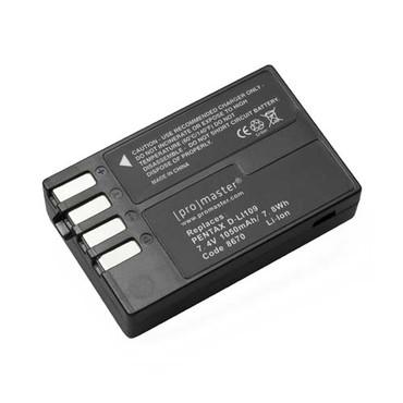 Pentax D-LI109 Li-ion Battery Fits Pentax K-r