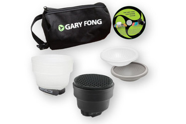 Gary Fong Portrait Lighting Flash Modifying Kit (Black/White/Gray/Amber)