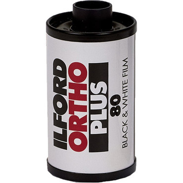 Ilford Ortho Plus 35mm Black and White Film (36 Exposures)