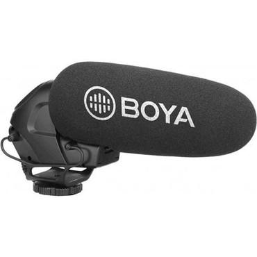 BOYA Directional On-Camera Super-Cardioid Shotgun Microphone