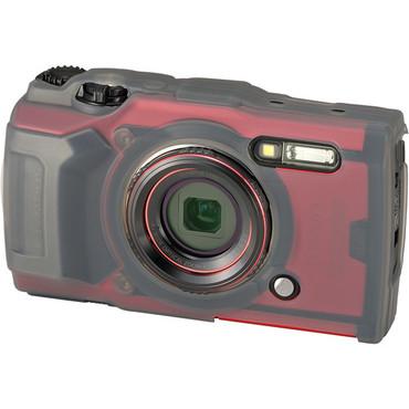 Olympus CSCH-127 Silicone Jacket for Tough TG-6 Digital Camera