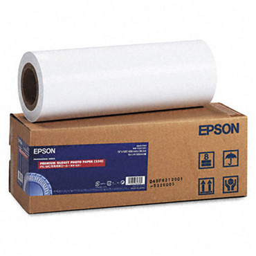 "Premium Glossy Photo Paper For Inkjet - 16""X100'"
