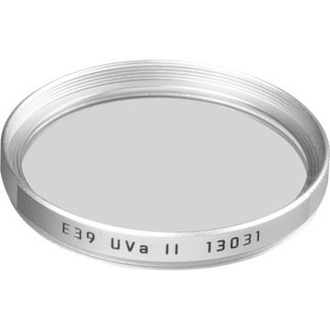 Pre-Owned Leica E39 UVa II Filter (Silver)