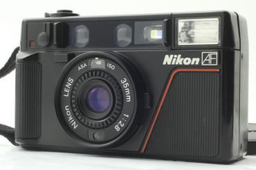 Pre-Owned - Nikon L35 AF Film camera 35mm lens  f/2.8