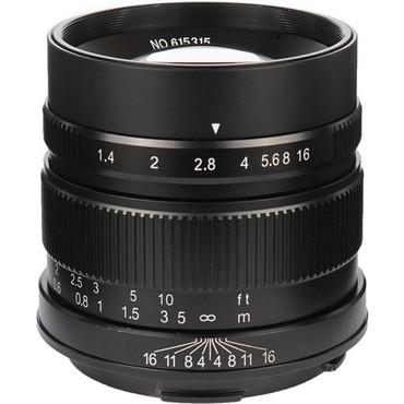 7Artisans Photoelectric 55mm f/1.4 Lens for Leica L Mount - Black