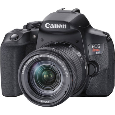 Canon EOS T8i DSLR Camera with 18-55mm Lens (ACE62050)