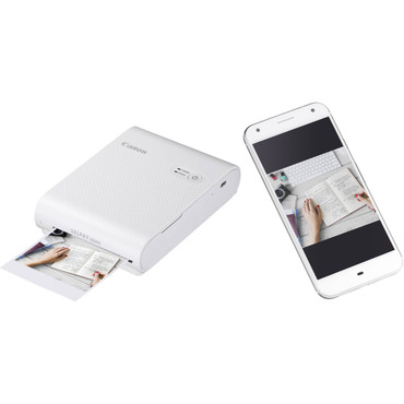 Canon SELPHY Square QX10 Compact Photo Printer (White) (ACE62047)