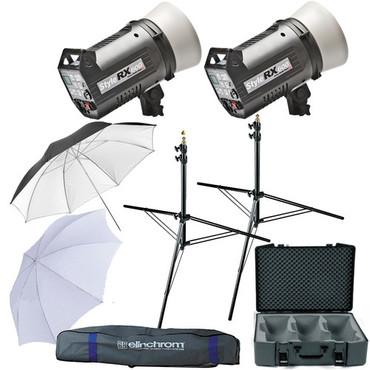Elinchrom Digital Style 600RX Flash Two Monolight Kit (120VAC)