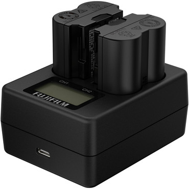 Twin Battery Charger for NP-W235 Battery