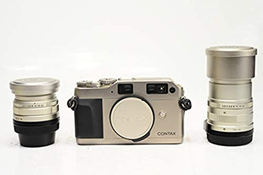 Pre-Owned Contax G1 with 28mm f2.8 Biogon T* and 90mm Sonnar T* F2.8. film camera