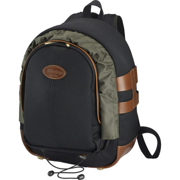 Billingham Rucksack 25 (Black Canvas/Tan Leather)