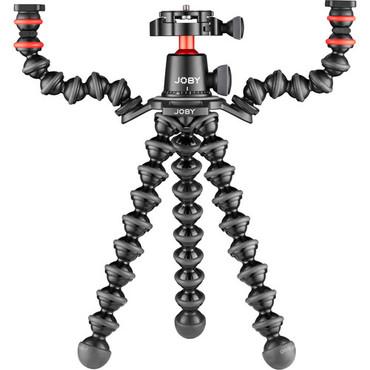 JOBY GorillaPod 3K PRO Rig (Black/Charcoal/Red)
