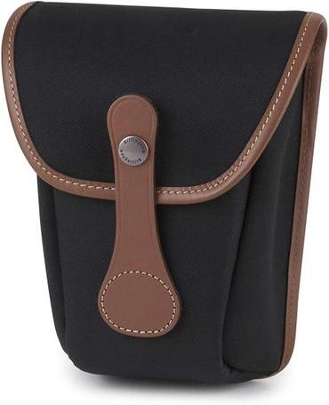 Billingham AVEA 8 Camera Pocket (Black Canvas/Tan Leather)