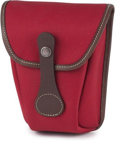 Billingham AVEA 7 Camera Pocket (Burgundy Canvas/Chocolate Leather)