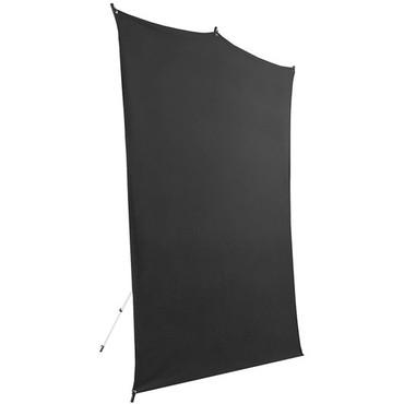 Savage Backdrop Travel Kit (Black, 5 x 7')
