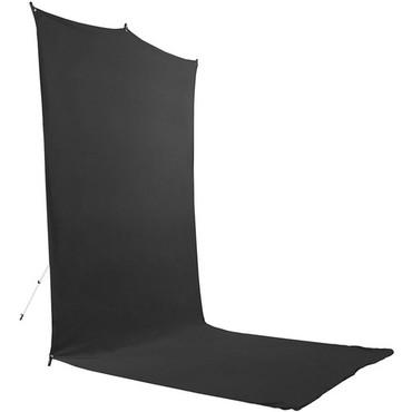 Savage Backdrop Extended Travel Kit (Black, 5 x 12')