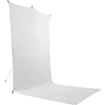Savage Backdrop Extended Travel Kit (White, 5 x 12')