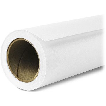 Superior Seamless Photography Background Paper, 93 Arctic White (86 inches Wide x 36 feet Long)