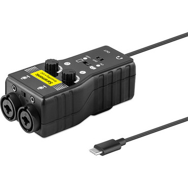 Saramonic SmartRig+UC Two-Channel Audio Interface for USB-C Devices