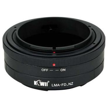 Kiwifotos Kiwi Canon FD Lens to Nikon Z Camera Mount Adapter