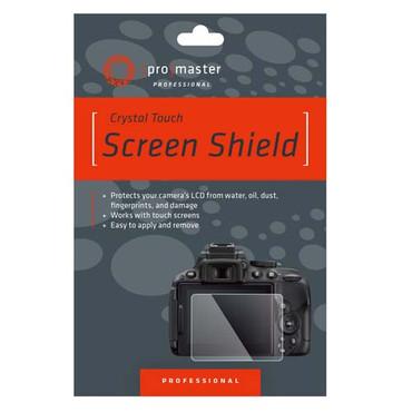 Crystal Touch Screen Shield - Canon M6, M6 Mark II, M50, M100, G9X, G9X Mark II, G7X, G5X, G5X Mark II, and G1X Mark II