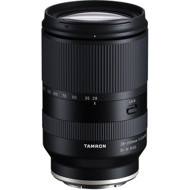 Tamron 28-200mm f/2.8-5.6 Di III RXD Lens for Sony E (FREE 67mm CPL filter Value $139 end Jan 3,2021) (ACE62629)