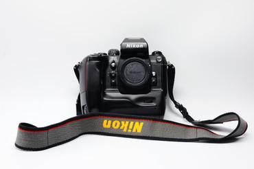 Pre-Owned - Nikon F4 W/Mb-23  film camera body only, 200-day warranty