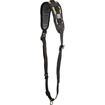BlackRapid Delta FA Coyote Rifle Sling with Swivel Locking Carabiner - Single Point
