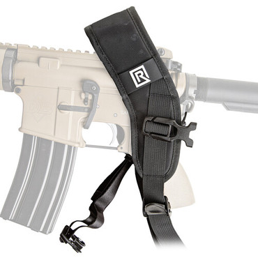 BlackRapid Sport X FA Black Rifle Sling with Swivel Locking Carabiner - Single Point