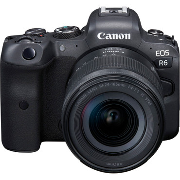 CANON R - Canon EOS R6 Mirrorless Digital Camera with 24-105mm f/4-7.1 Lens (ACE62750)