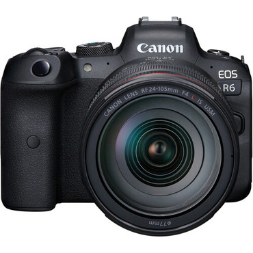 Canon EOS R6 Mirrorless Digital Camera with 24-105mm f/4L Lens (ACE62751)