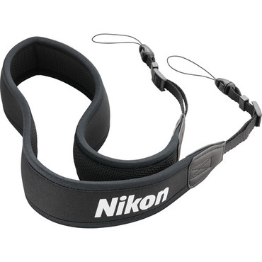 Nikon Neoprene Strap for Binoculars (Black) (ACE62762)