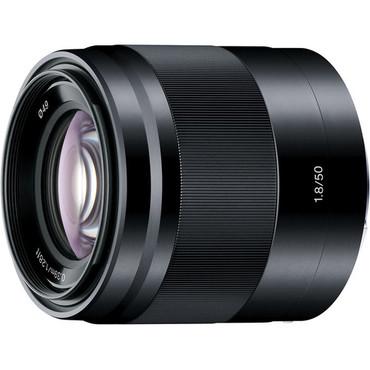 Sony E 50mm f/1.8 OSS Lens (Black)