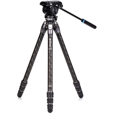 Benro Tortoise Carbon Fiber 2 Series Tripod System with S4Pro Video Head