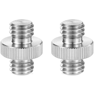 "SmallRig 3/8""-16 Male to 3/8""-16 Male Thread Adapters (2-Pack)"