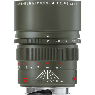 Leica APO-Summicron-M 90mm f/2 ASPH. Edition 'Safari' Lens