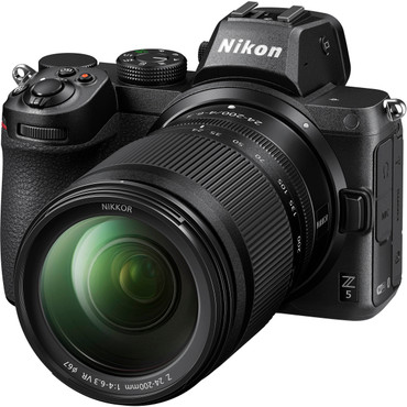 Nikon Z - Z5 FX-format Mirrorless Digital Camera with 24-200mm Lens