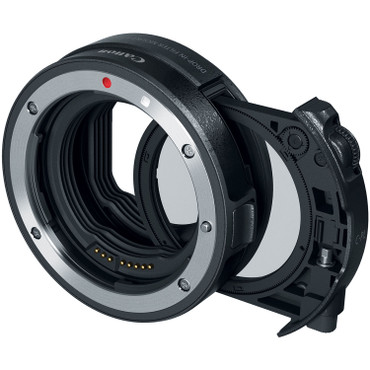Canon RF - Canon Drop-In Filter Mount Adapter EF-EOS R with Circular Polarizer