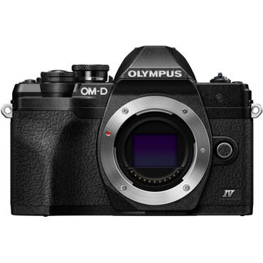 Olympus OM-D E-M10 Mark IV Mirrorless Digital Camera (Body Only, Black)