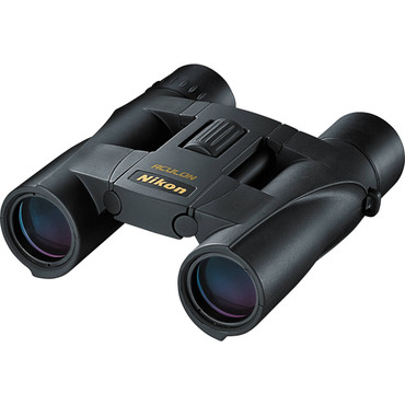 Nikon 10x25 Aculon A30 Binocular with Clamshell Packaging (Black) (ACE54300)